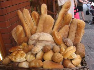 Delectable German breads