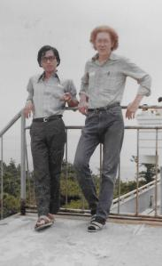 Dan & Yoshimi san in 1971