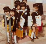 All of the Japanese children wore school uniforms