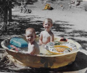 Backyard pool!